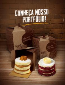 embalagens para doces Delivery